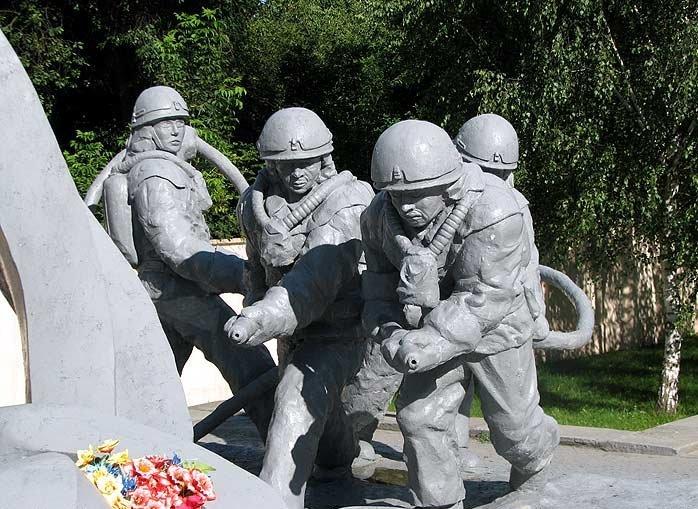 фото первых пожарных чернобыля своими